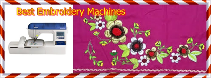 Top 10 Best Embroidery Machines For Beginners, Affordable Embroidery Machines
