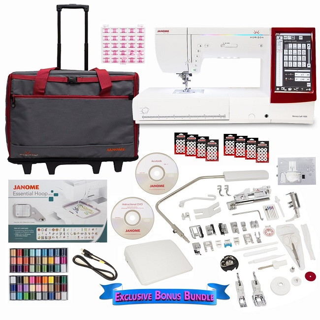 Janome Memory Craft 14000 Sewing and...